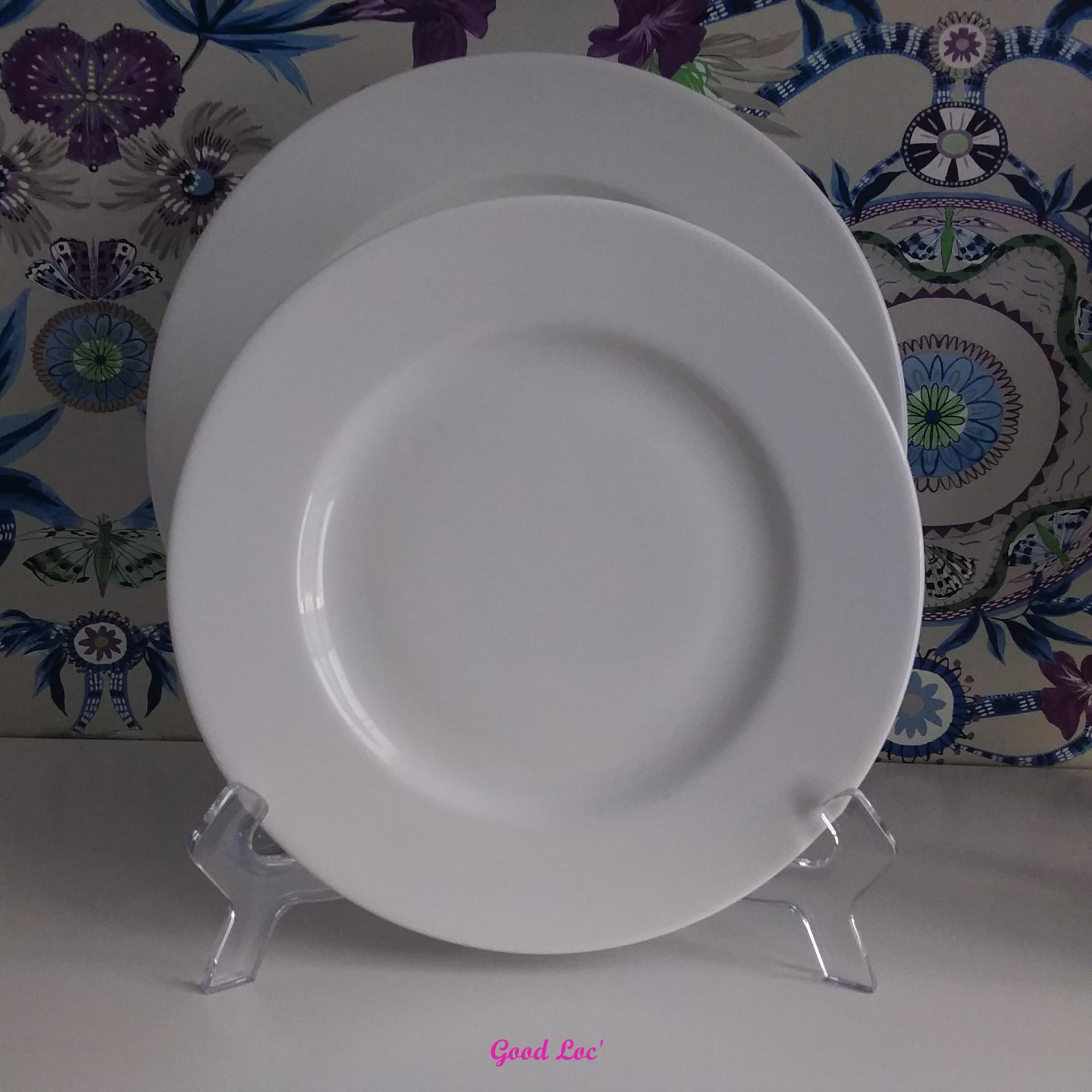 Location assiette classique 21cm