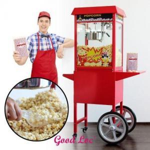 Location machine pop corn